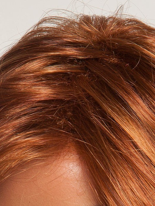 Pre-teasing masks basic cap beneath | Tip: Consider wigs with a monofilament top for the illusion of natural hair growth from the scalp