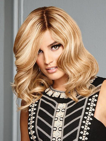 GOOD LIFE by Raquel Welch in SS14/88 SHADED GOLDEN WHEAT | Medium Blonde Streaked With Pale Gold Highlights Dark Brown with Subtle Warm Highlights  Roots