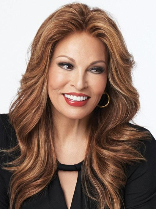 GRAND ENTRANCE by Raquel Welch in R3026S+ | Medium Auburn with Soft Ginger Highlights