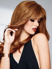 HUMAN HAIR BANG by Raquel Welch R5HH | LIGHT REDDISH BROWN
