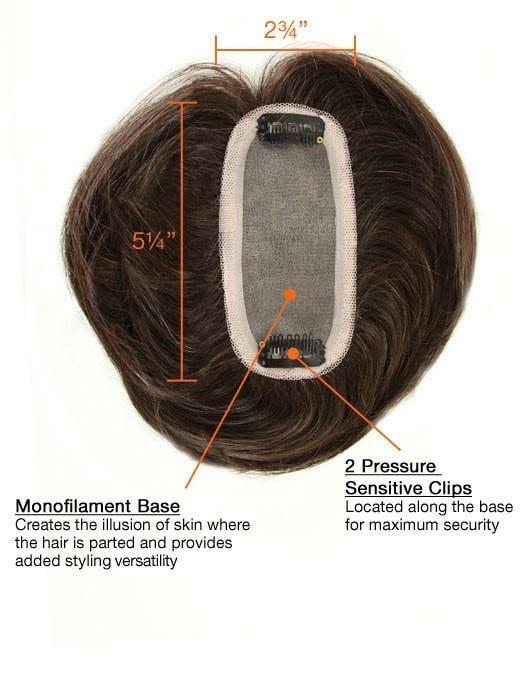Monofilament Base | Creates the illusions of natural hair growth and allows you to part the hair in any direction