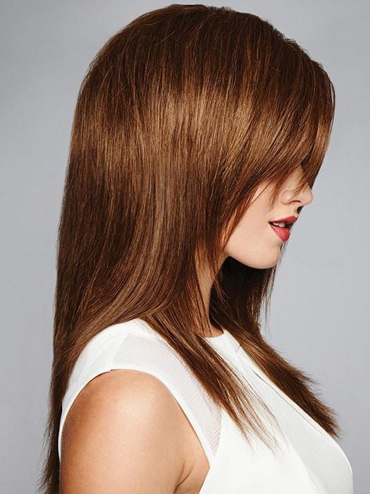 For optimum styling results, wash the wig then blow dry and style with a heat tool