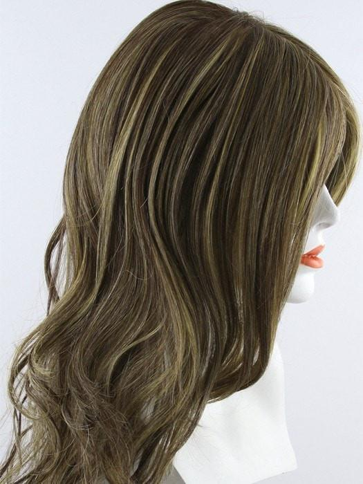 RL11/25 GOLDEN WALNUT |  Medium Brown With Gold Blonde Highlights Throughout