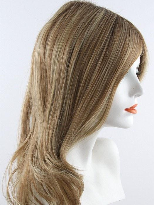 RL14/22SS SHADED WHEAT | Dark Blonde Evenly Blended with Platinum Blonde with Dark Roots