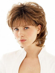 SALSA LARGE by Raquel Welch in SS11/29 SHADED NUTMEG | Warm Medium Brown Evenly Blended with Ginger Blonde and Dark Roots