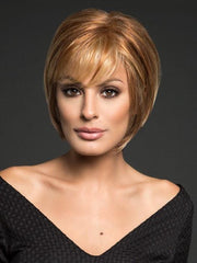 Have the bangs trimmed by your stylist for a more custom look