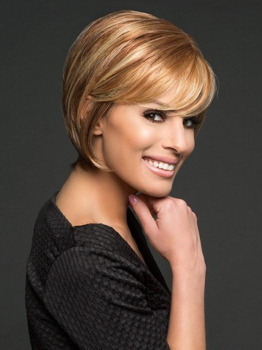 MUSE by Raquel Welch in R29S GLAZED STRAWBERRY |  Strawberry Blonde with Pale Blonde highlights