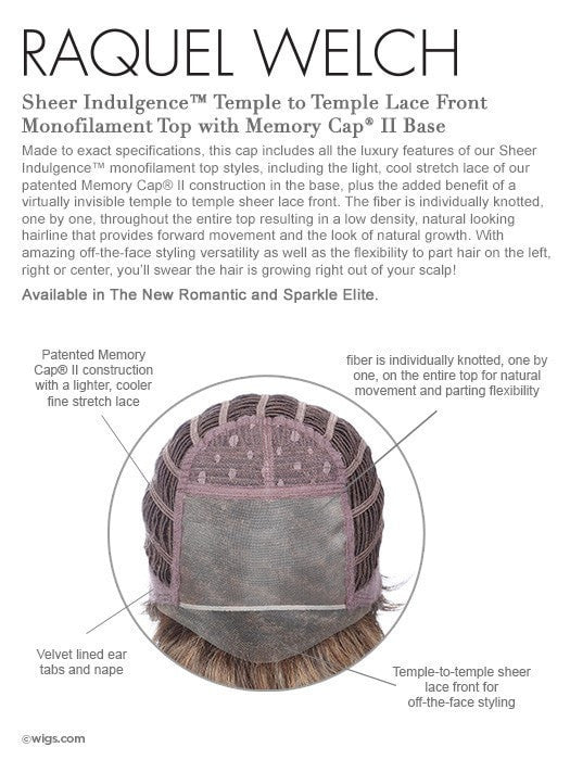 Memory Cap II - Temple to Temple Lace Front