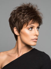 POWER by Raquel Welch in R10 CHESTNUT | Rich Medium Brown with subtle Golden Brown Highlights Throughout