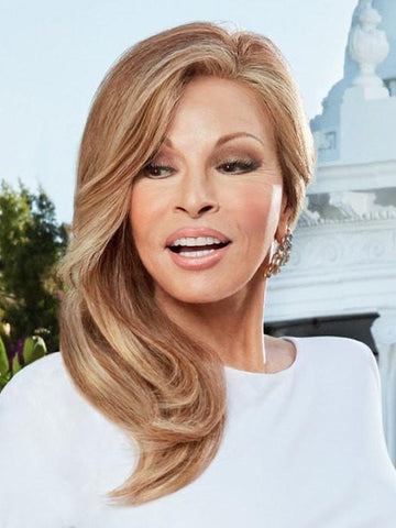 PROVOCATEUR by Raquel Welch | Certified Remy Human Hair Wig with Swiss Lace Front and a 100% Hand-Tied cap