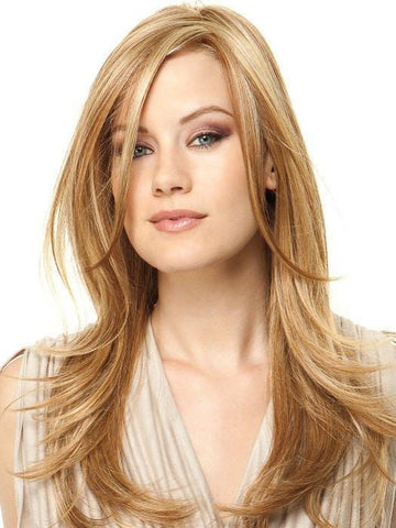 SCENE STEALER by Raquel Welch in RL14/25 HONEY GINGER | Dark Blonde Evenly Blended with Medium Golden Blonde