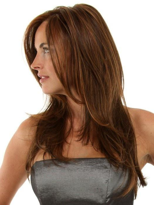 Monofilament top creates the appearance of natural hair growth and allows you to part the hair in any direction