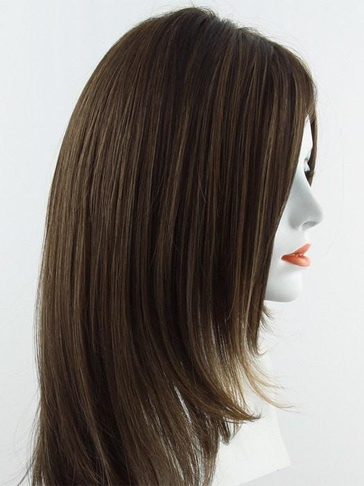 RL6/28 BRONZED SABLE | Medium Brown Evenly Blended with Medium Ginger Blonde