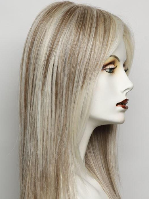 RL19/23 BISCUIT | Light Ash Blonde Evenly Blended with Cool Platimun Blonde