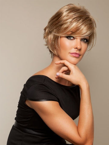 SALON COOL by Raquel Welch in R14/25 HONEY GINGER | Dark golden blonde with light gold highlights