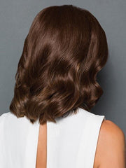 100% fine human hair allows you to seamlessly blend the piece with your own hair | Color: R4HH