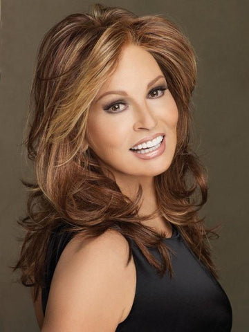 SPOTLIGHT by Raquel Welch in RL31/29 FIEREY COPPER | Medium Light Auburn Evenly Blended with Ginger Blonde