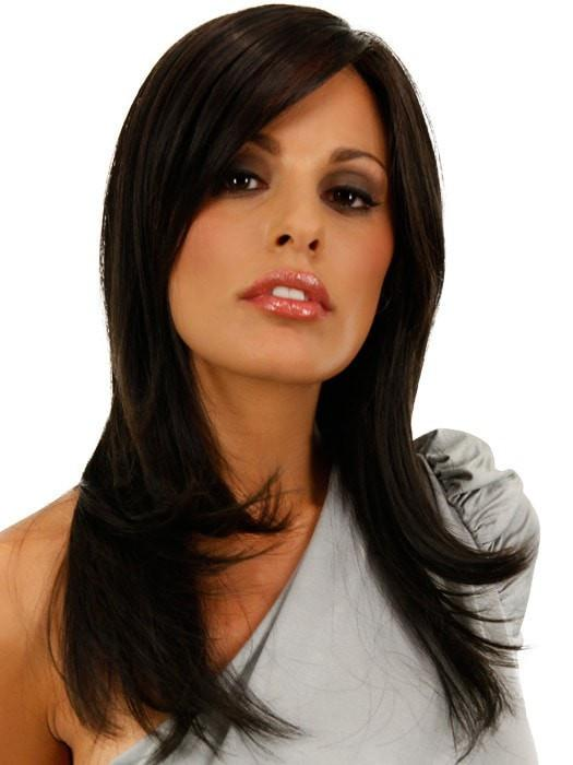SPOTLIGHT by Raquel Welch in RL2/4 OFF BLACK | Black Evenly Blended with Dark Brown Highlights