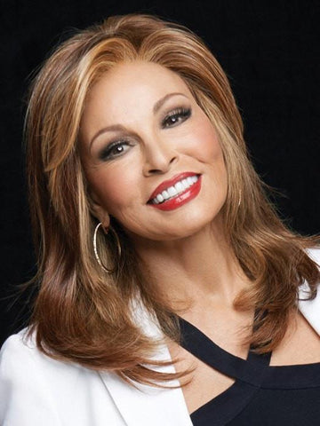 SPOTLIGHT ELITE by Raquel Welch in RL31/29 FIEREY COPPER | Medium Light Auburn Evenly Blended with Ginger Blonde