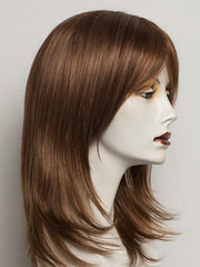 R3025S+ GLAZED CINNAMON | Medium Auburn with Ginger Blonde Highlights on Top