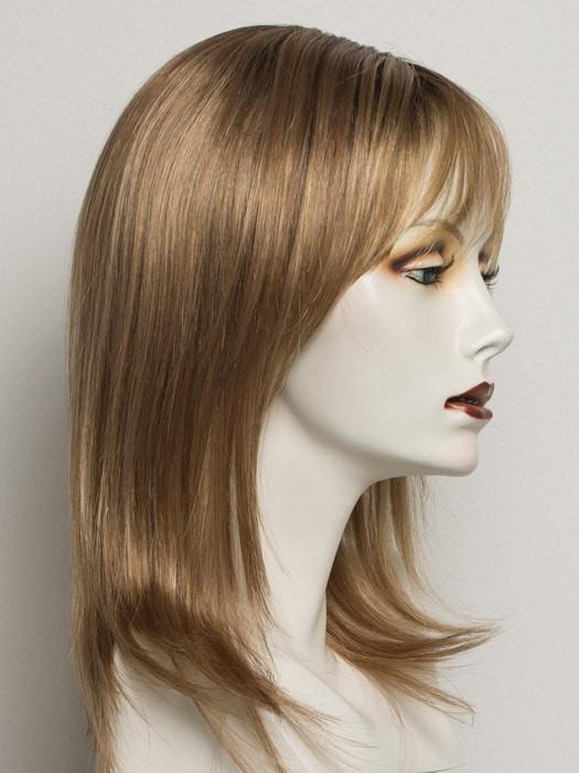 SS14/25 SHADED HONEY GINGER | Dark Blonde Evenly Blended with Medium Golden Blonde Highlights with Dark Roots