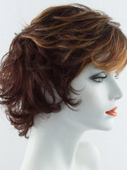 R3329S GLAZED AUBURN | Rich Dark Auburn with Pale Ginger