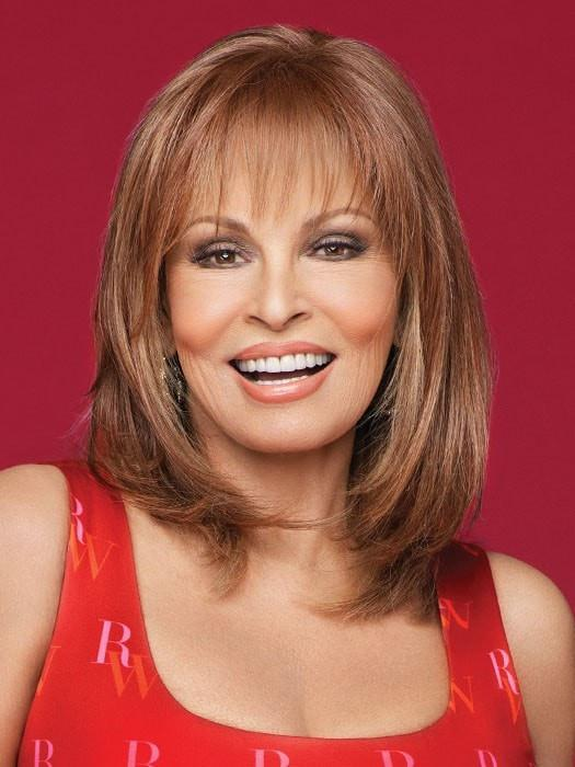 TOP BILLING Raquel Welch in RL30/27 RUSTY AUBURN | Medium Auburn Evenly Blended with Strawberry Blonde