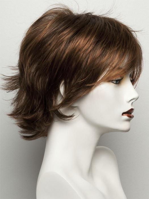 R32/31 CINNABAR | Medium Dark Auburn Evenly Blended with Medium Light Auburn