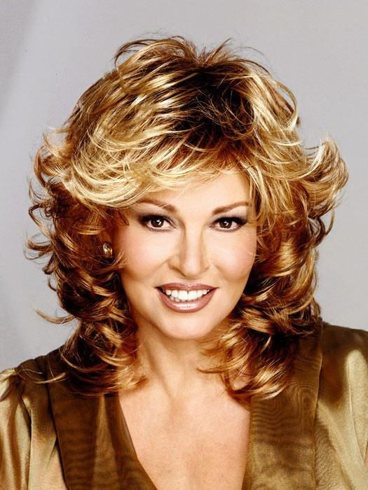 TRESS by Raquel Welch in R29S GLAZED STRAWBERRY | Light Red With Golden Blonde Highlights