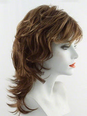 R3025S GLAZED CINNAMON | Medium Auburn with Ginger Blonde Highlights on Top