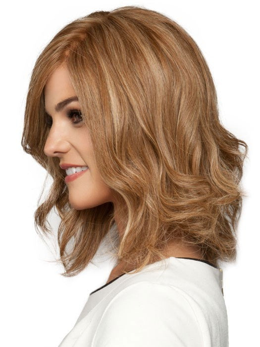 Apply heat for a dramatic wavy style