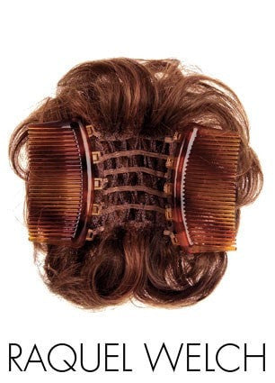 The Magic Combs interlock around your ponytail or hair to create a natural look that is comfortable and stylish for any occasion.