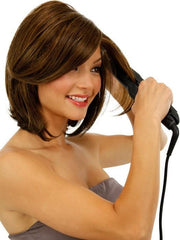 Tru2Life Heat-Friendly Synthetic Hair Wigs | Can be styled with Heat Tools: Straight or Curly