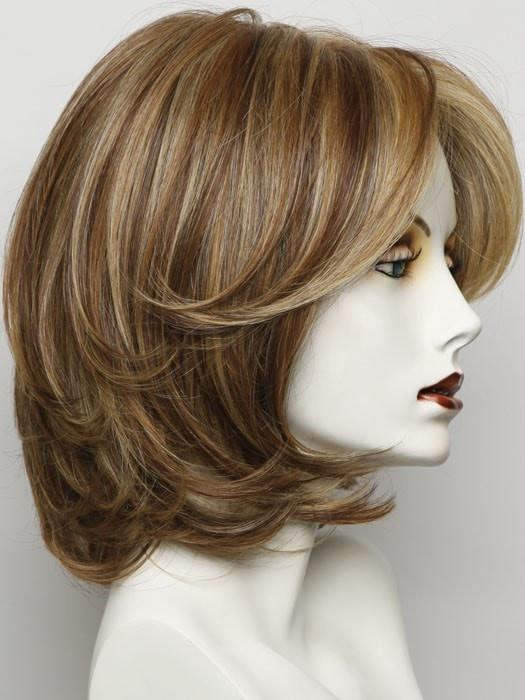 RL29/25 GOLDEN RUSSET | Ginger Blonde Evenly Blended with Medium Golden Blonde