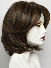 RL8/29 HAZELNUT | Warm Medium Brown Evenly Blended with Ginger Blonde with Dark Roots