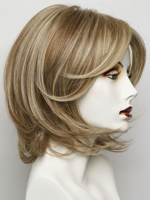RL14/22 PALE GOLDEN WHEAT | Dark Blonde Evenly Blended with Platinum Blonde