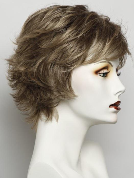 R1020 BUTTERED WALNUT | Medium Brown with Subtle Neutral Blonde Highlights