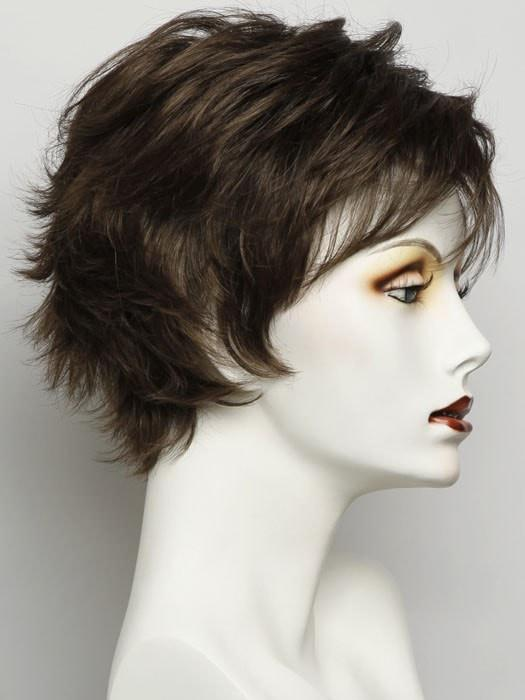 SS10 SHADED CHESTNUT | Rich Medium Brown Evenly with Light Brown Highlights with Dark Roots