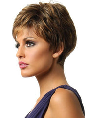 WINNER ELITE by Raquel Welch in R9S+ GLAZED MAHOGANY | Warm Medium Brown with Ginger Highlights on Top