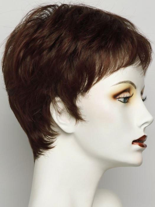 SS130 DARK COPPER | Bright Reddish Brown With Subtle Copper Highlights, Dark Brown Roots