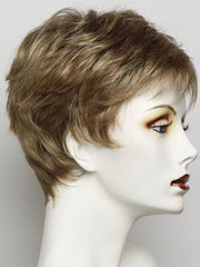 SS14/25 HONEY GINGER | Dark Strawberry Blonde Blended With Pale Gold Blonde and Medium Brown Roots