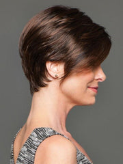 Longer right side can be worn over the ear or behind | Color: GL4-8