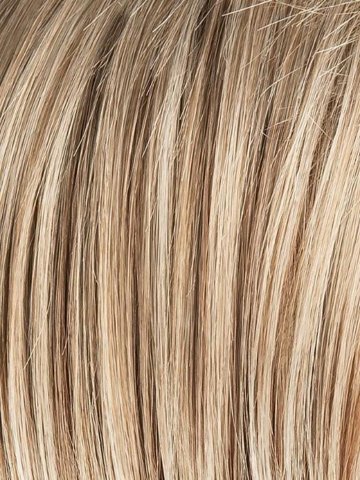 SANDY-BLONDE-ROOTED 16.24.22 | Medium Honey Blonde, Light Ash Blonde, and Lightest Reddish Brown blend with Dark Roots