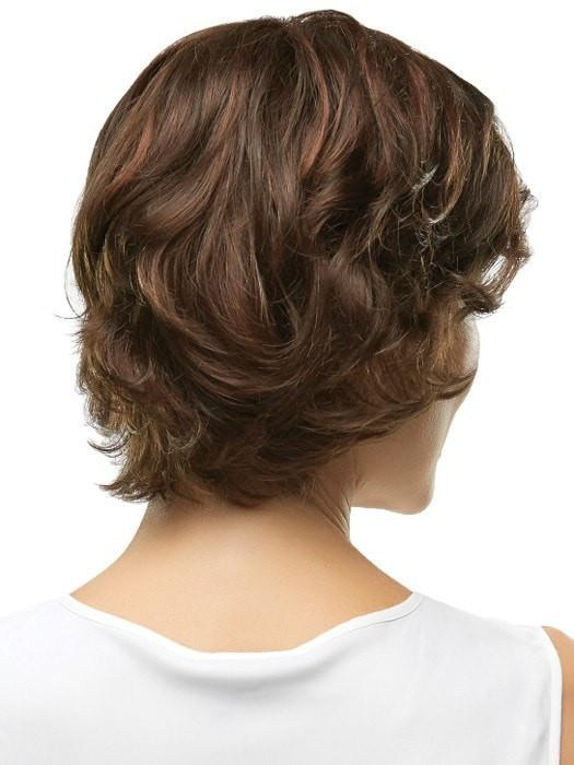 Blends easily with short to chin length styles | Color: 6/33