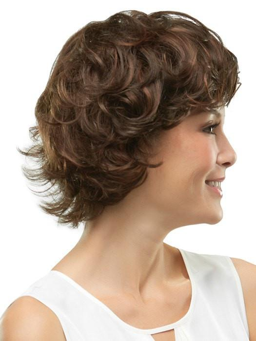 Enhance the curl or smooth out with your fingers | Color: 6/33
