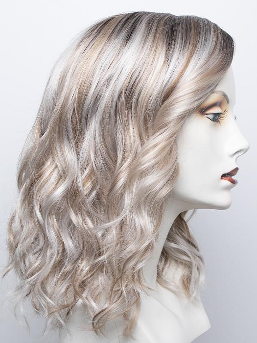 VANILLA-MACCHIATO | Light Chestnut Brown Base with Light Brown, Golden Blonde, and Icy Blonde Highlights