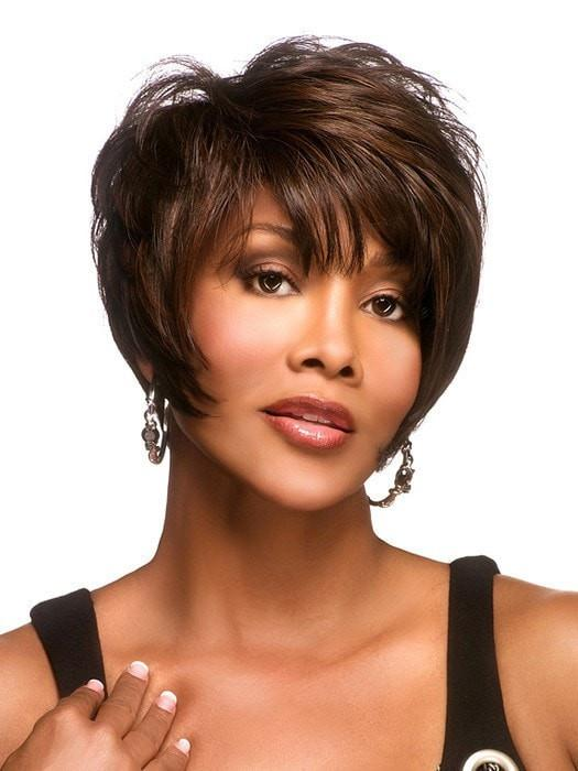 MOORE by Vivica Fox in FS4/30 | 80% Medium Dark Brown with 20% Copper Blonde Frost