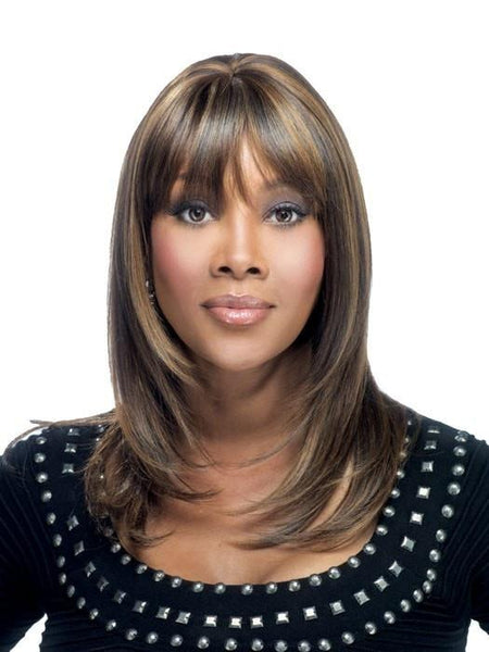 Vivica Fox Wigs, Human Hair Lace Front Wigs for Black Women