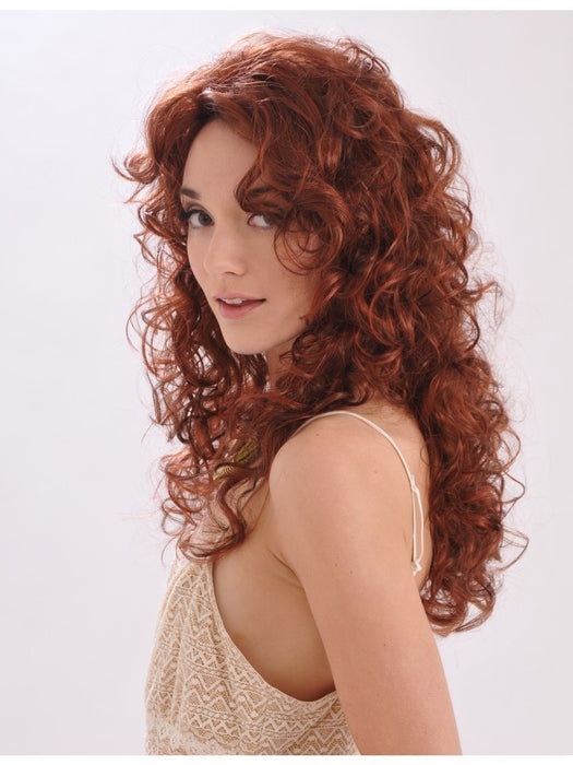 ANEMONE by WigPro in 32/130 | Dark Auburn tipped with Reddish Auburn