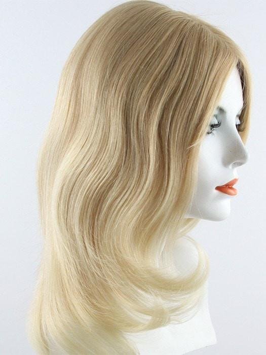 88R  | Light strawberry Blonde tipped w/ Bleach Blonde